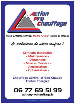 Flyer Action Pro Chauffage