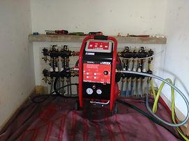 Désembouage plancher chauffant et radiateurs, Vallée de l'ubaye, Action Pro Chauffage