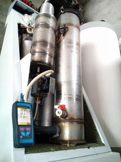 Mise en service chaudière gaz, APC