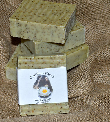 Rosemary & Coffee Grounds Face & Body Soap