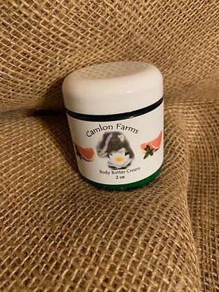 Grapefruit Peppermint Body Butter Cream 4 oz