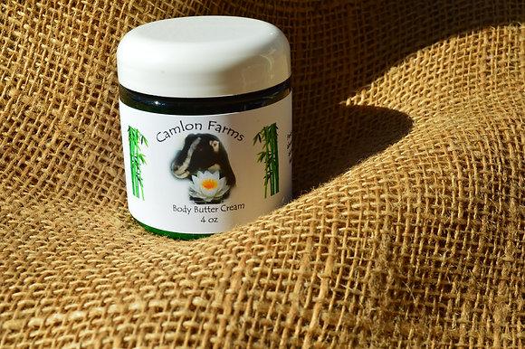 Fresh Bamboo Body Butter Cream 4oz