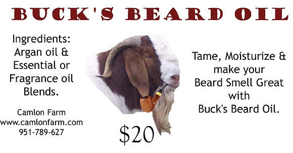 Buck's Beard Oil Shave & a Haircut