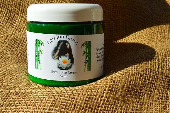 Fresh Bamboo Body Butter Cream 16 oz