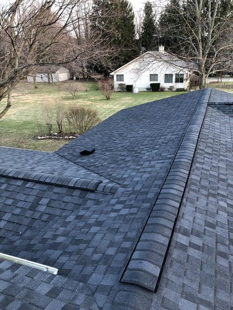 Kalamazoo MI Roofing Moire Black 15