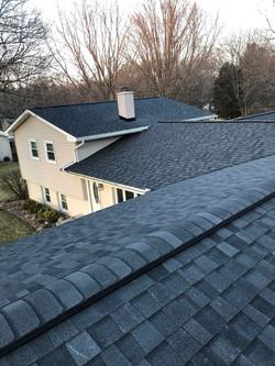 Kalamazoo MI Roofing Moire Black 16