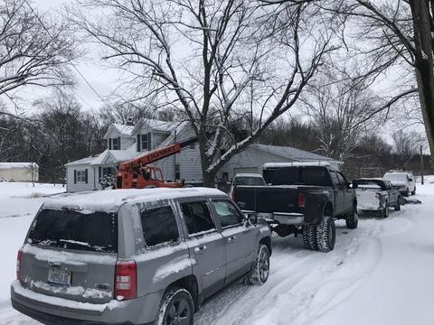 Kalamazoo MI Roofing Moire Black 50