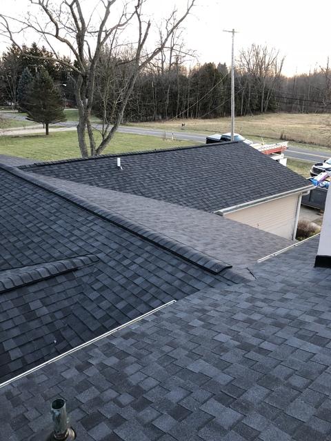 Kalamazoo MI Roofing Moire Black 14