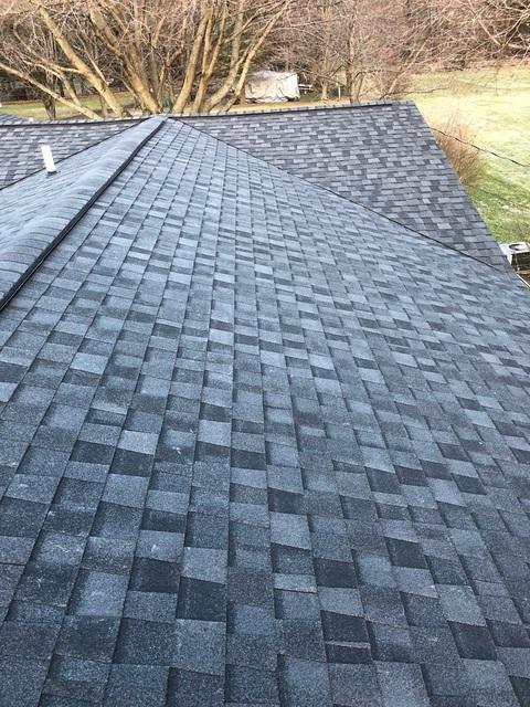 Kalamazoo MI Roofing Moire Black 17