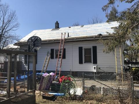 Kalamazoo MI Roofing Cinder Black 17