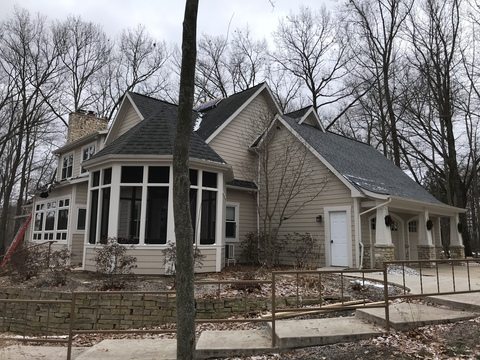 Kalamazoo Pewter Roof Replacement 28
