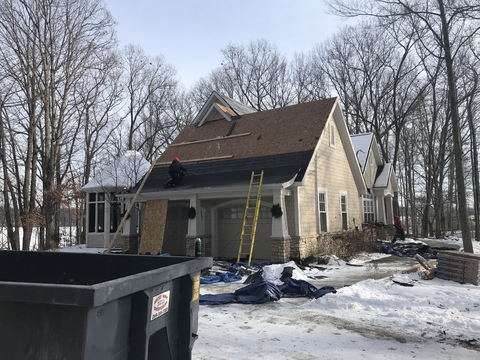 Kalamazoo Pewter Roof Replacement 8