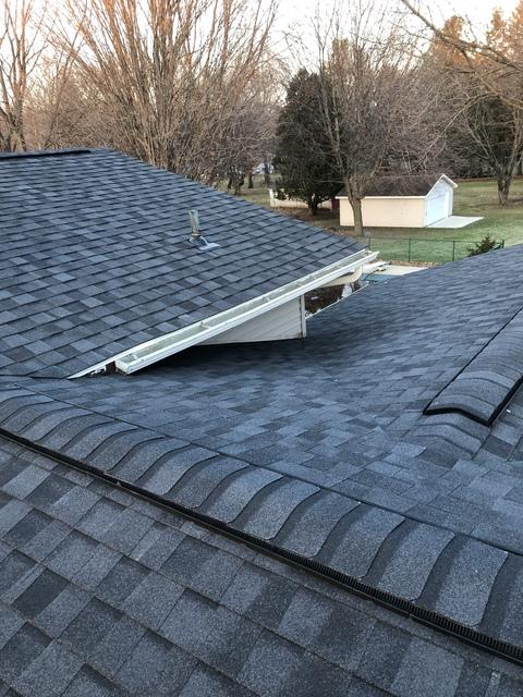Kalamazoo MI Roofing Moire Black 12