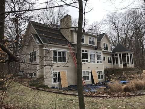 Kalamazoo Pewter Roof Replacement 25
