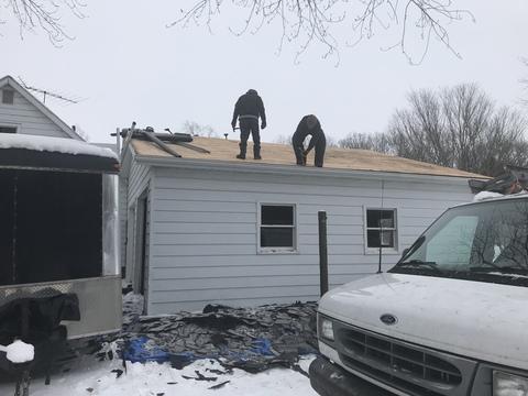 Kalamazoo MI Roofing Moire Black 47