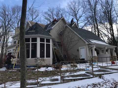 Kalamazoo Pewter Roof Replacement 29