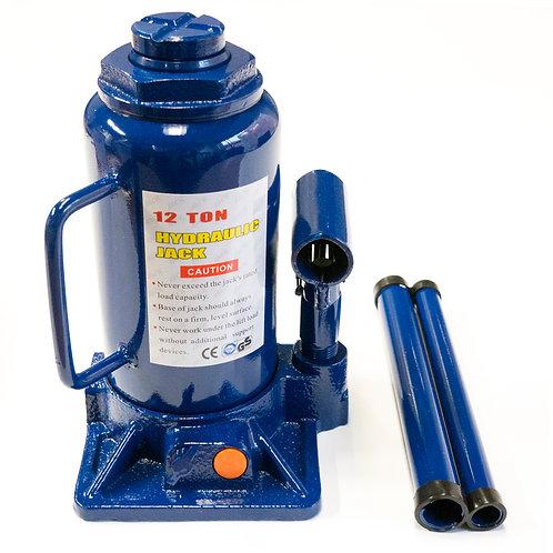 Cric hidraulic 12T albastru RUNKIT