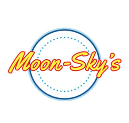 Moon-Skys Logo Transparent White Ring Th
