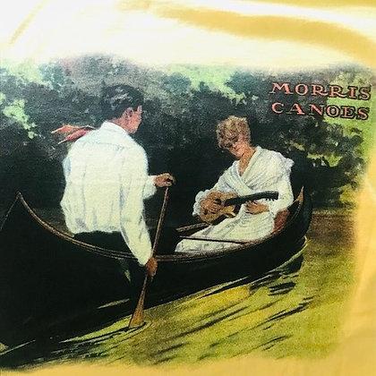 Morris Canoe Yellow Mens T-Shirt