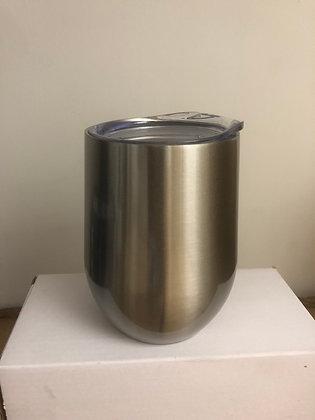 12 oz Stainless Steel Wine Tumbler