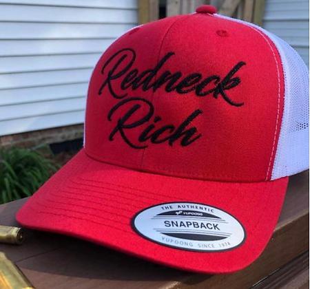 Redneck Rich OG Curve Bill Hat