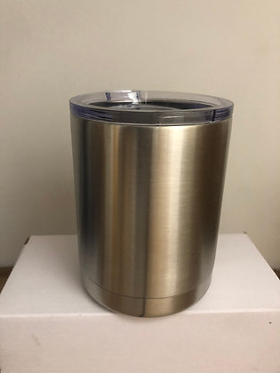12 oz Stainless Steel Low Ball Tumbler