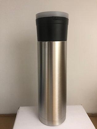 17oz Skinny Bluetooth Speaker Stainless Steel Tumbler