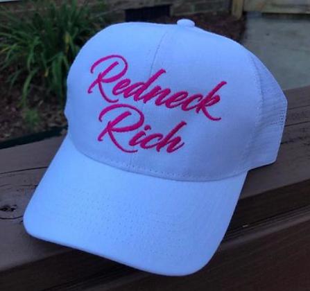 Redneck Rich OG Ponytail Hat