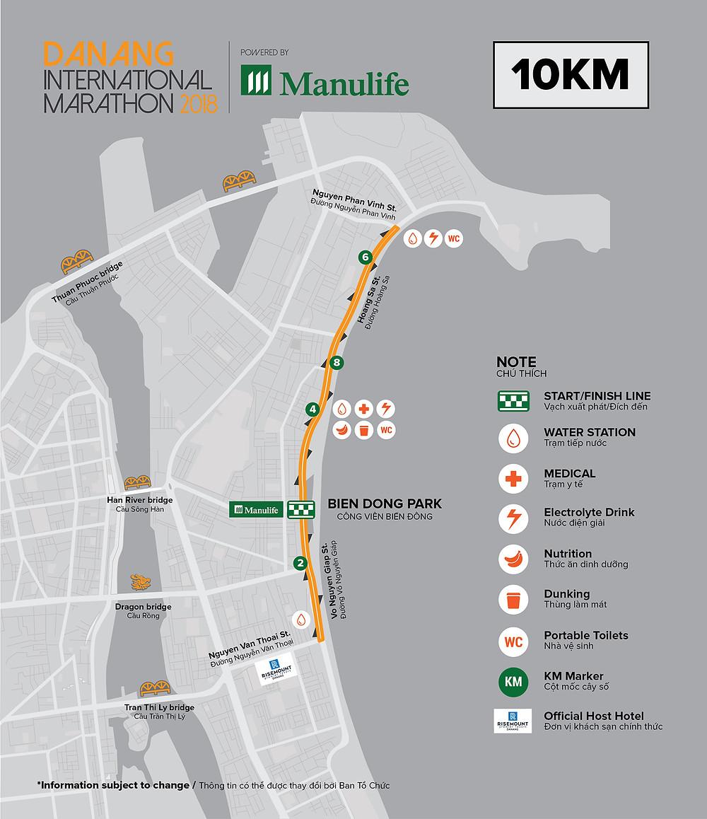 Manulife Danang International Marathon 2018