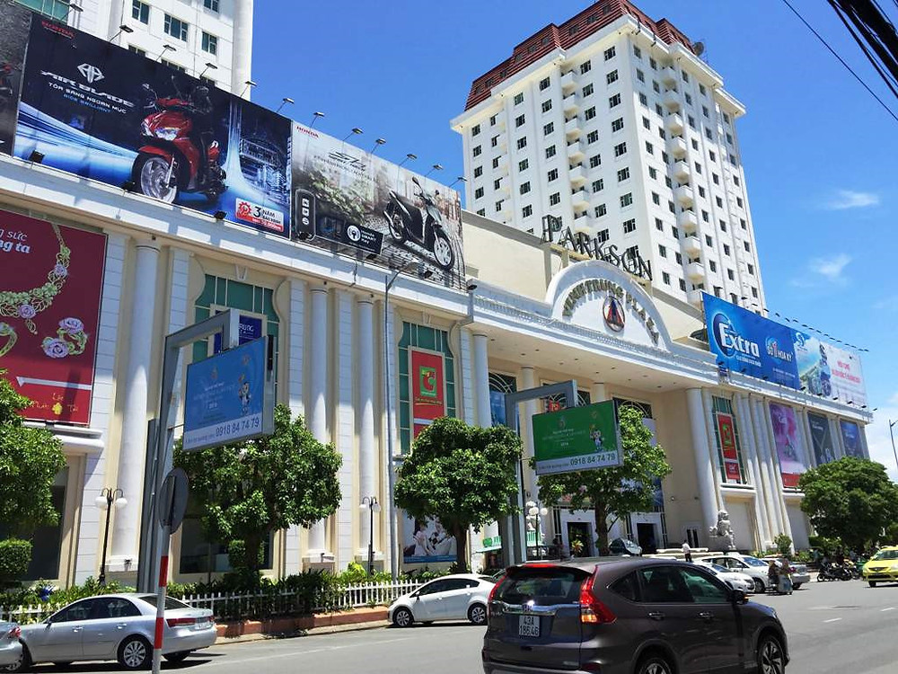 Shopping mall in Da Nang Big C