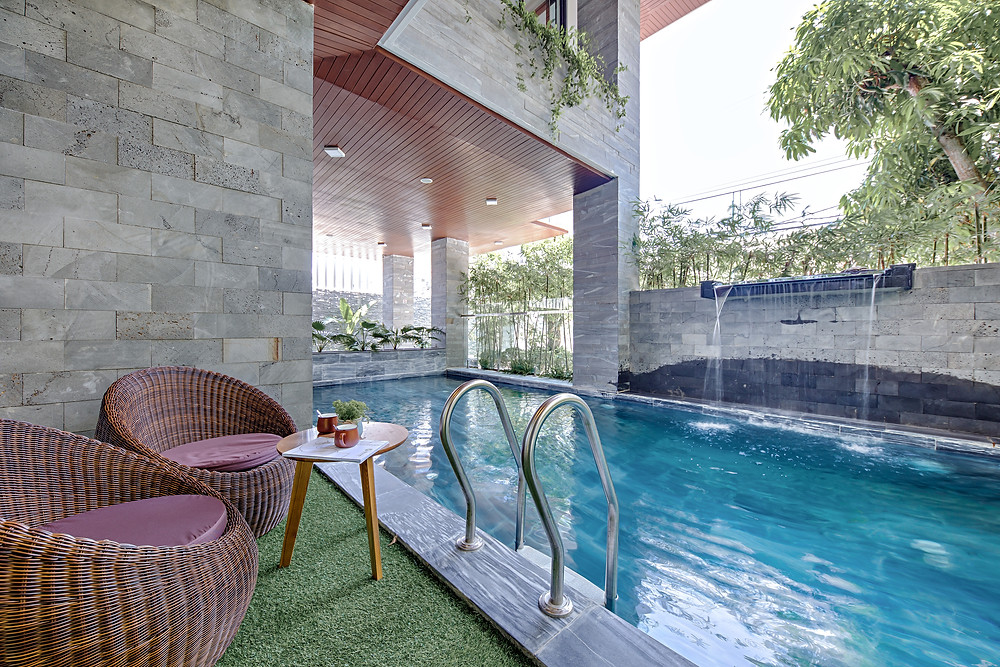 Top 5 villas with the most beautiful swimming pool in Danang