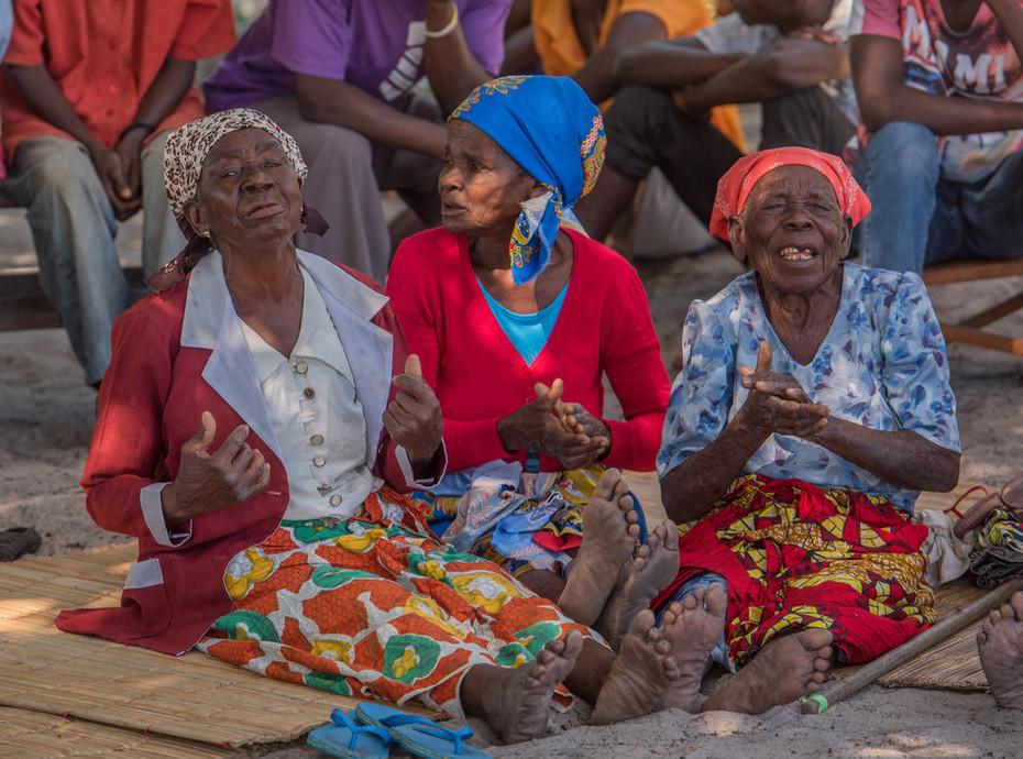 Eröffnung Pflegeheim Vilanculos, Mosambik