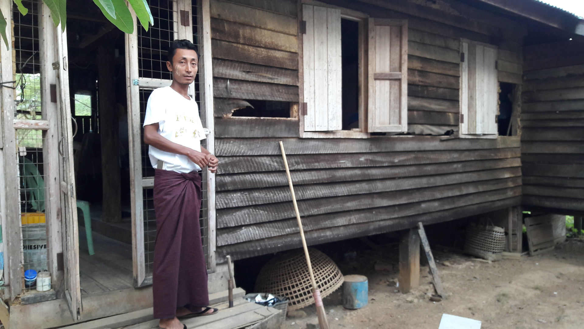 New service home in Myanmar