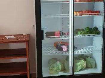 Die Küche in Vilanculos, Mozambique ist fertig....