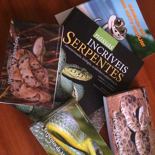 Coleção Incríveis Serpentes