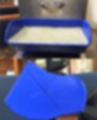 cangilones tapco azul para elevador