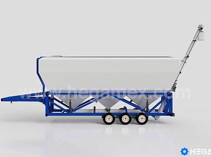 Silo para cemento para 50 toneladas 35 metros cúbicos. Hegamex Equipos