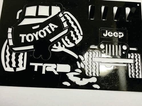 Portallaves Toyota - Jeep