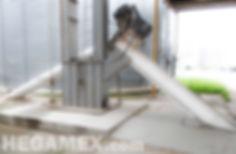 En este sistema, los trailers de carga simplemente vierten el producto a las fosas subterraneas las cuales alimentan a bazucas fijas mismas que transportan el producto al elevador. Tags: elevadores de cangilones, tapco, Elevator Buckets