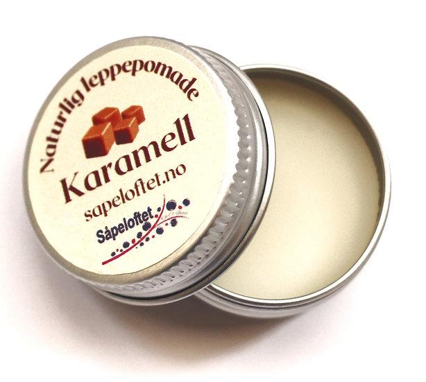 Karamell - leppepomade