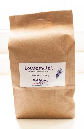Tørket lavendel - 75 g