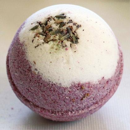 Lavendel badebombe 5-pkn