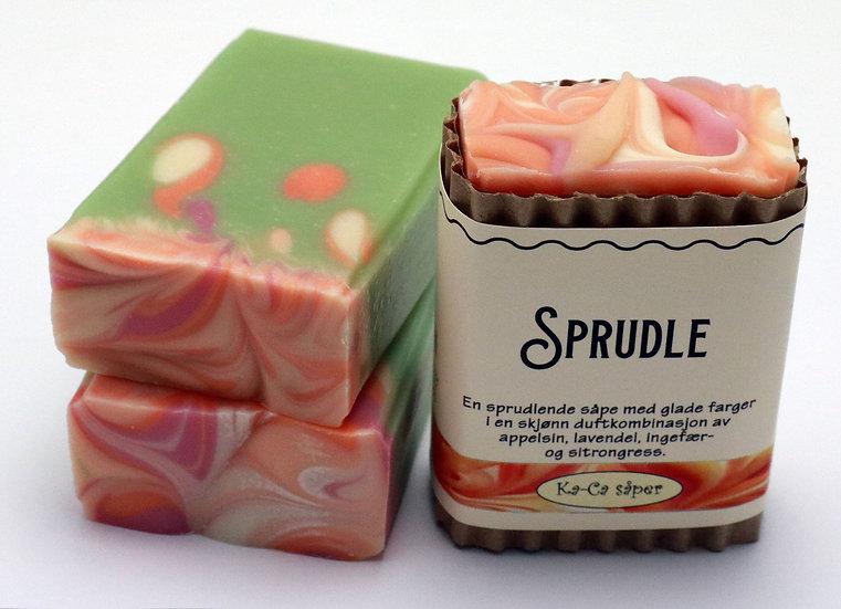 Sprudle – såpe