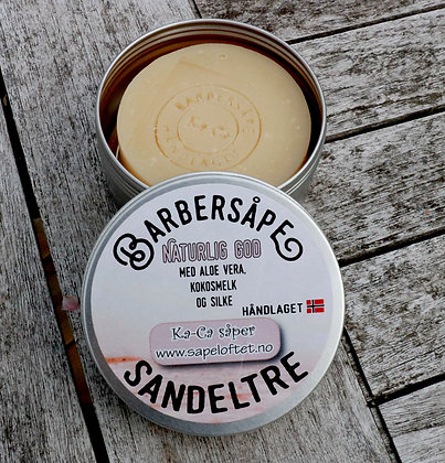 Sandeltre barbersåpe 5-pakning