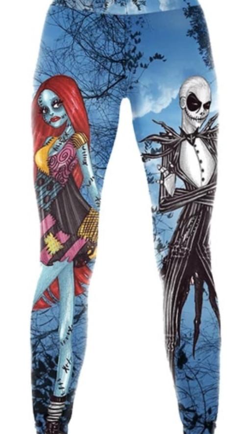 new ladies nightmare before christmas leggings - Nightmare Before Christmas Leggings
