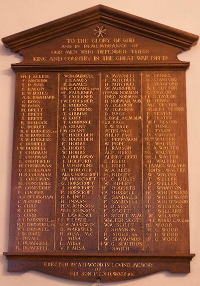 Fairwarp-WW1-War-Memorial-in-chirch-1-12