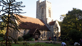 Fairwarp Christ Church - Churchyard Clean Up October 2018
