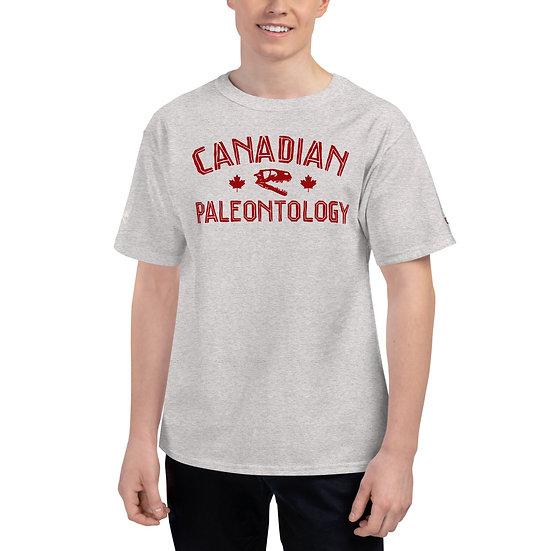 Edward Cope Canadian Paleontology Men's Champion T-Shirt