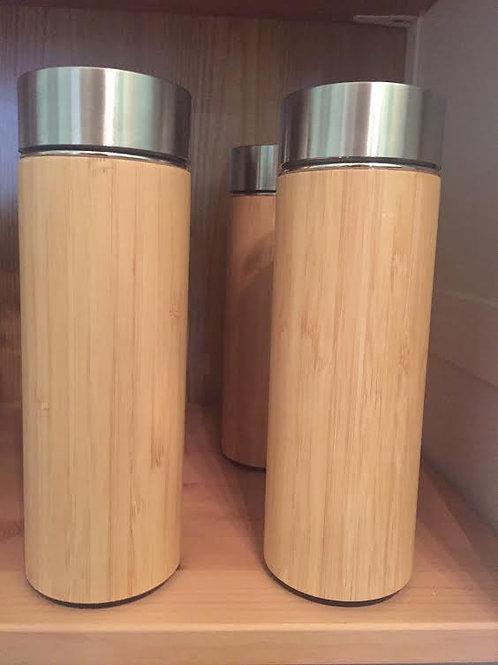 Bamboo Tea Infuser & Tumbler