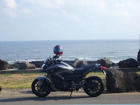 済州島バイクツーリング